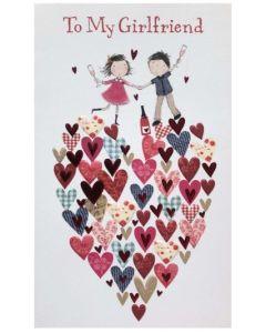 Valentine Card - To My GIRLFRIEND