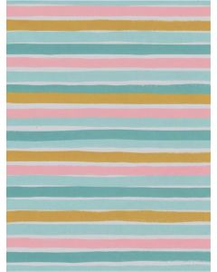 Folded Wrapping Paper - Neapolitan Stripes