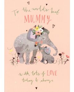 MUM Card - World's Best Mummy