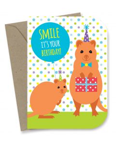'Smile It's Your Birthday!' Card