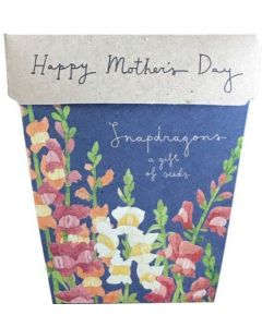 Snapdragon Mother's Day - card & gift of seeds