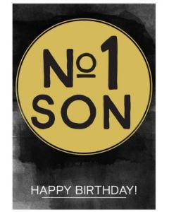 Birthday Card - No. 1 SON