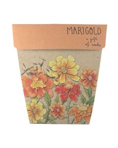 Marigold - Card & Gift of Seeds