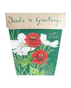 Seeds 'n' Greetings - card & gift of seeds