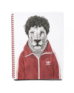 Sporty Lion Notebook