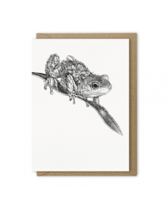 Spotted Tree Frog Card