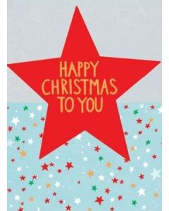 Red Star Christmas Card