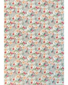 Folded Wrapping Paper - Pretty Floral