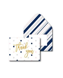 Thank You Cards - Stylish Spot (10 cards)