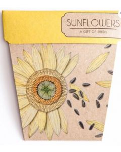 Sunflowers - Card & Gift of Seeds
