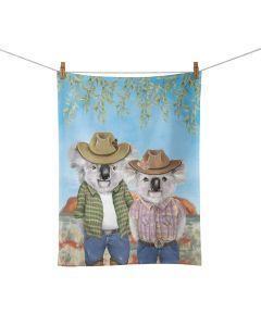 Sunny Outback Tea towel