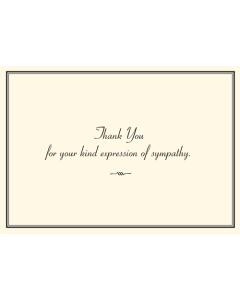 Sympathy Thank You Notecard Box