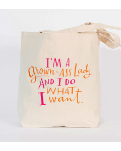 Grown-Ass Lady Tote Bag