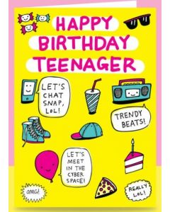 Teenager Birthday