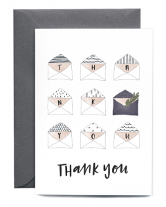 Thank You Envelopes Card