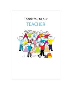 BIG Card - Thank You TEACHER