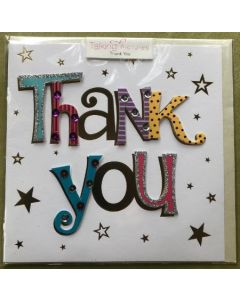 Thank you - Handmade & bright