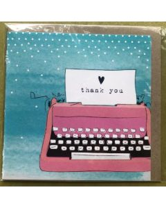 Thank you - Typewriter