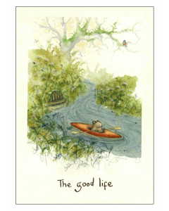 'The Good Life' Card