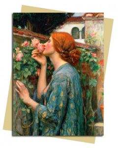 Greeting Card - 'The Soul of the Rose', 1908