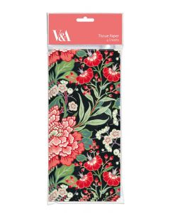 Tissue Paper - Peony and Prunus (4 sheets)