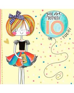 AGE 10 Card - Totally 10 Today