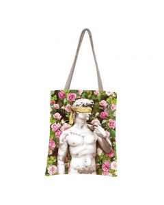 Tote bag - ON SALE - 50 shades of pink