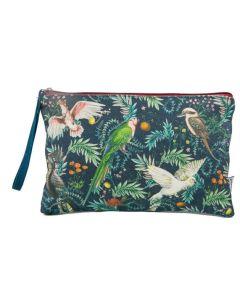 Clutch purse - Tree of Life birds