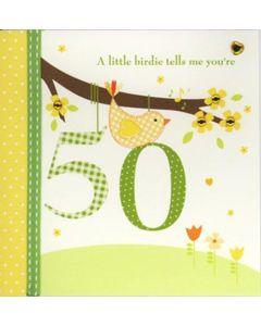 '50' Card