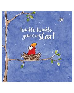 Twinkle, twinkle, you're a star!