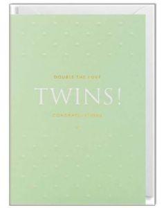 TWINS - Birth Congratulations