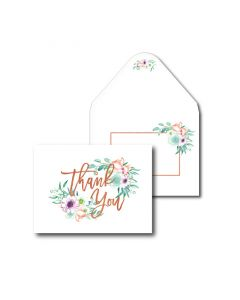 Thank You Cards - Pretty Floral (10 cards)