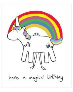 Birthday - Carrying Magical Unicorn