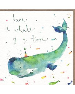 Greeting Card - Whale of a Time