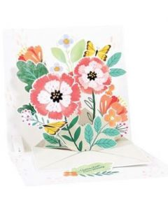 Floral Envelope  - 3D pop-up card