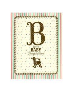 B is for Baby Greeting Card