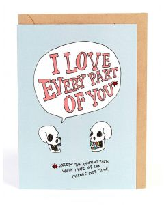 Greeting Card - Love Every Part of You