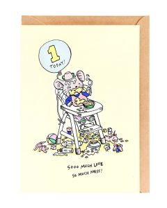 AGE 1 Card - So Much Mess