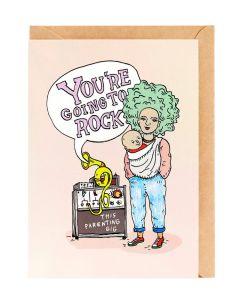 Greeting Card - Parenting Gig