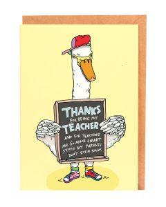 TEACHER Card - So Much Smart Stuff
