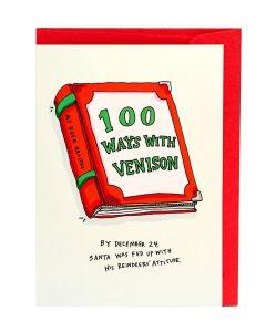 100 Ways with Venison