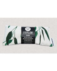 Eyepillow - Gum leaves design with calming organic lavender scent