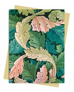 Greeting Card - Acanthus by William Morris, 1875