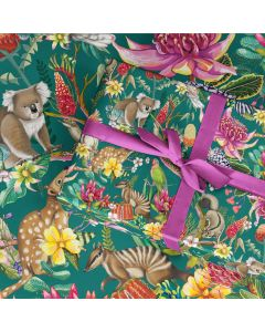 Folded Wrapping Paper - Exotic Paradiso