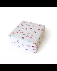 Folded Wrapping Paper - Raining Rainbows