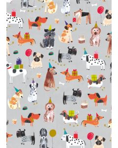 Folded Wrapping Paper - Dog Tales