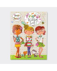 Friends Writing Set with stickers & envelope seals