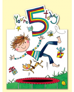 'You're 5 Today' Card